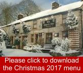 Church Inn Chelmorton Christmas Menu